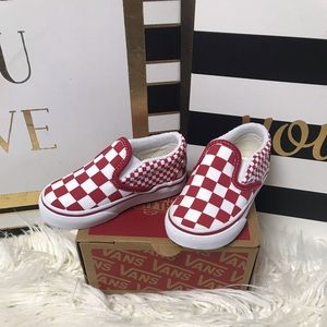 New baby/ toddler Vans
